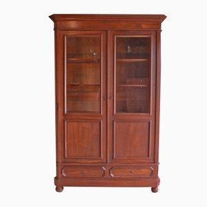 Tight Antique Walnut Bookcase