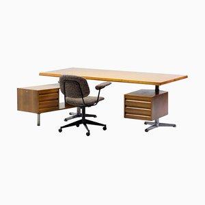 T95 Executive Desk by Osvaldo Borsani with Matching Desk Chair