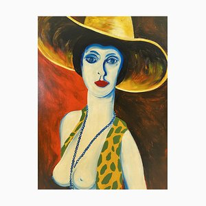 Lady in the Yellow Hat