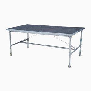 Industrieller Tisch aus Metall, 19. Jh