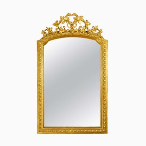 Large Louis XVI Wall Mirror, France, 1860s
