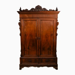 Italian Walnut Plated Cabinet