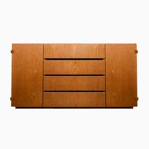 Sideboard aus Massivem Holz, 1970er