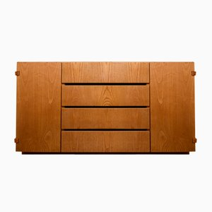Solid Wood Sideboard, 1970s