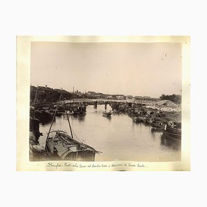Unknown, Views of Shanghai, Albumen Print, 1890s, Set of 2