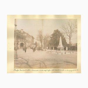 Unknown, Ancient Views of Shanghai, Albumen Print, 1890s, Set of 2