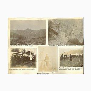 Stampe fotografiche cinesi ed etniche sconosciute, Cina, fine XIX secolo, set di 11