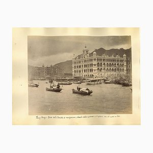 Unknown, Ancient Views of Hong-Kong Photograph, Albumen Print, 1890s, Set of 2