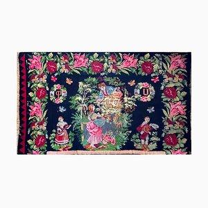 Handgewebter Teppich aus Rumänien
