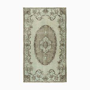Grau Eingefärbter Teppich