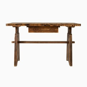 Pine Console in the Style of Axel Einar Hjorth