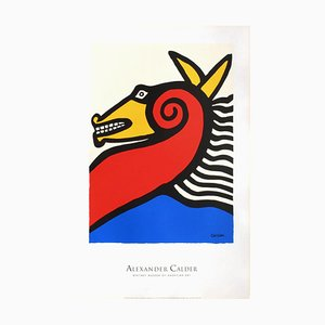 Póster de caballo de Alexandre Calder