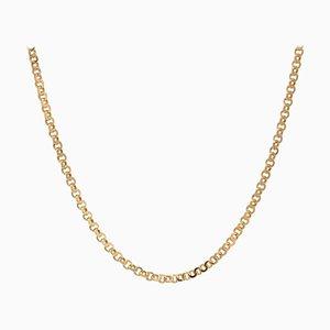 French 20th Century 18 Karat Yellow Gold Chain