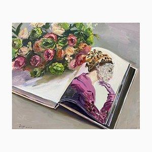 Zeitgenössische Chinesische Kunst, Su Yu, Flowers & Beauty, 2021