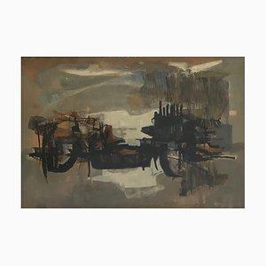 Paul Delapoterie, Orages au crépuscule, 1959