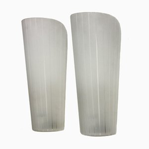 Art Déco Magna Wall Lamps by Wilhelm Wagenfeld for Peill & Putzler, Set of 2