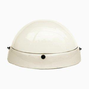 Bauhaus Oval Porcelain Lamp