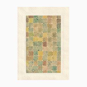 Linocut, Bauhaus-School, Pattern, 1950s