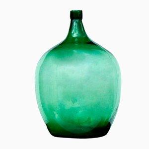 Green Antique Demijohn