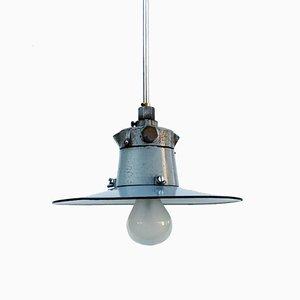 Lampe à Suspension Industrielle, 1930s