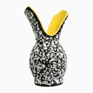 Freiformierte Lunetta Vase von Vallauris