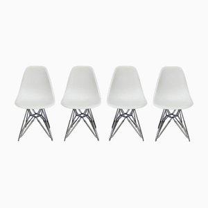 Modell DSR Stühle von Charles & Ray Eames für Vitra, 4er Set