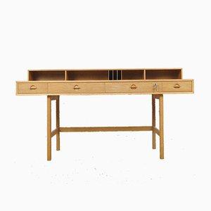 Dänischer Flip-Top Partner Schreibtisch von Jens Quistgaard für Løvig, 1960er