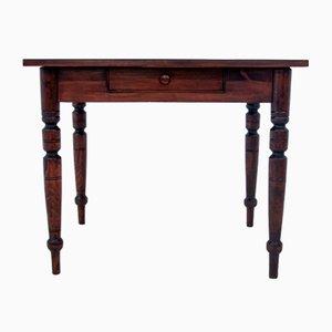 Jugendstil Schreibtisch mit Stuhl, 1930er, 2er Set