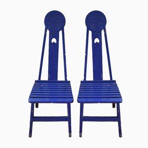 Art Nouveau Chairs, 1910s, Set of 2