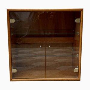 Vintage Danish Teak and Glass Cabinet