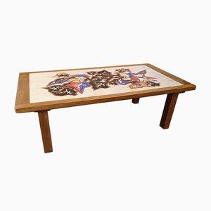 Ceramic Coffee Table by Jean Lurçat, 1950s