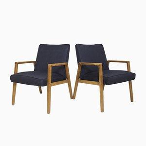 Skandinavische Sessel, 1960er, 2er Set