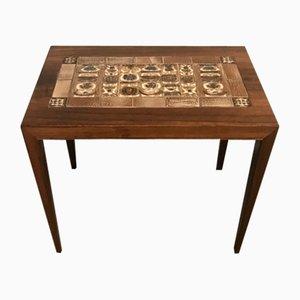 Palisander Tisch von Severin Hansen für Haslev