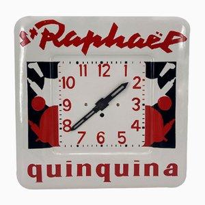 Advertising Clock from St Raphaël Quinquina, 1950s