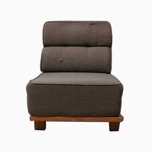 Mid-Century Sessel aus Eiche oder Dreiteiliges Sofa von Guillerme & Chambron, 3er Set
