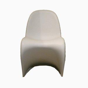 Panton Stühle von Verner Panton für Vitra, Schweiz, 1980er, 2er Set