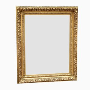 Late 19th Century Gilded Wooden Mirror