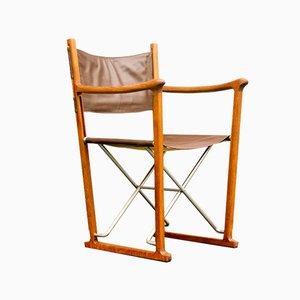Folding Chair in Teak by Peter Karpf