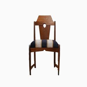 Art Deco Amsterdam School Dining Chairs, Set of 6
