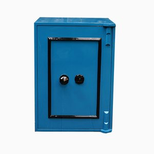 Vintage Blue Safe