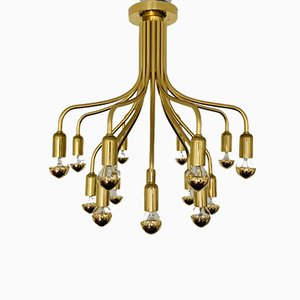 Hollywood Regency Sputnik Deckenlampe, 1970