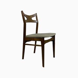 Skandinavische Vintage Eichenholz Esszimmerstühle von Kurt Østervig, 6er Set