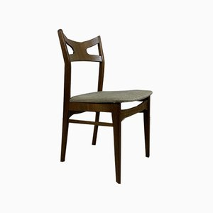 Vintage Scandinavian Oak Dining Chairs by Kurt Østervig, Set of 6