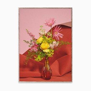 Blomst 07 rosa / rojo de The Paper Collective DK
