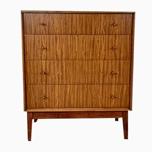 Walnut Chest of Drawers by Alfred Cox, 1950s