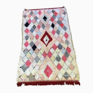 Vintage Moroccan Boucherouite Rug