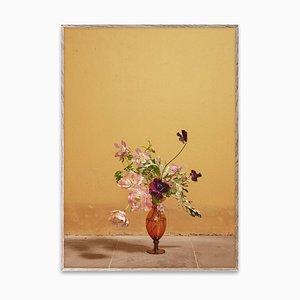 Blomst 02 Ochre par The Paper Collective DK