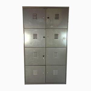 Vintage 8 Compartment Steel Locker