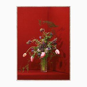 Blomst 03 Red par The Paper Collective DK