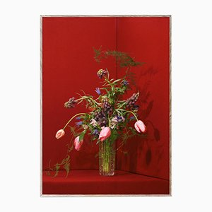 Blomst 03 Rot von The Paper Collective DK